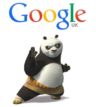 Did you say Google Panda or Kung Fu Panda?